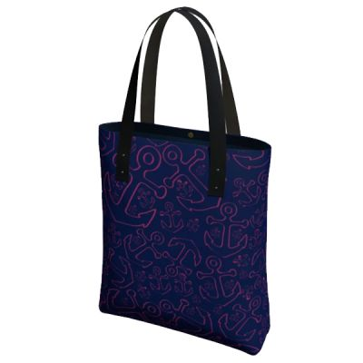 Anchor Dream Tote Bag - Pink/Navy