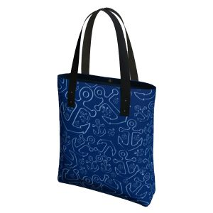 Anchor Dream Tote Bag Blue/Navy